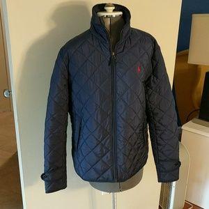 Polo Ralph Lauren Quilted Light Woman's Jacket Zip